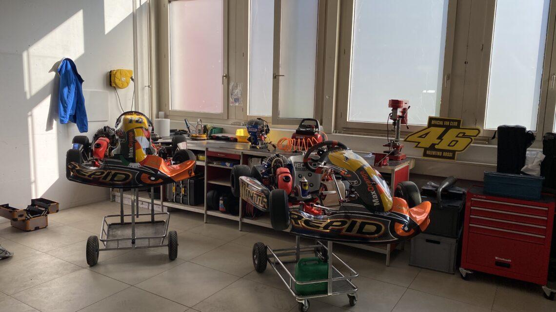New Garage for RT Racing