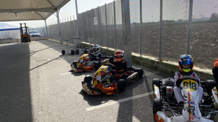 Winter Tests South Garda Karting
